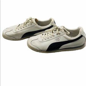 Black and White Puma Sneakers Size 13